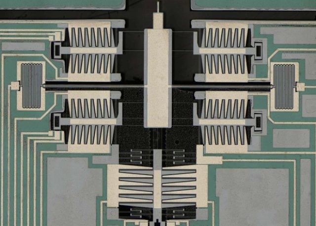 Атомно-силовой микроскоп уместили на чипе