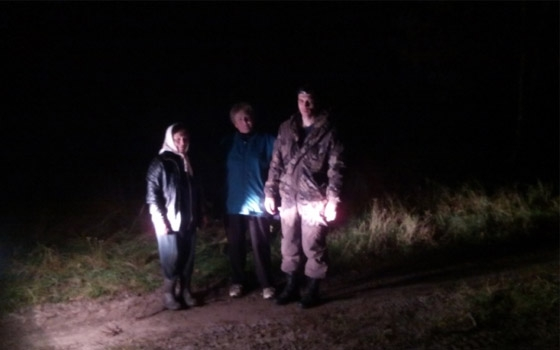 Две пенсионерки несколько часов блуждали в лесу под Брянском