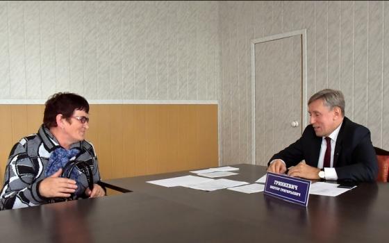 Депутат Брянской областной Думы, председатель Брянского отделения «ОПОРЫ РОССИИ» Виктор Гринкевич провёл очередной личный приём граждан