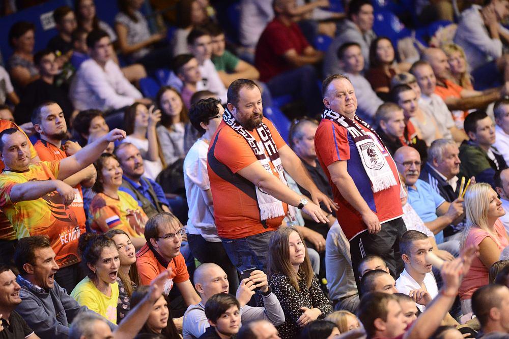ВК «Белогорье» уверенно обыграло питерский «Зенит» в Суперлиге. Как это было?