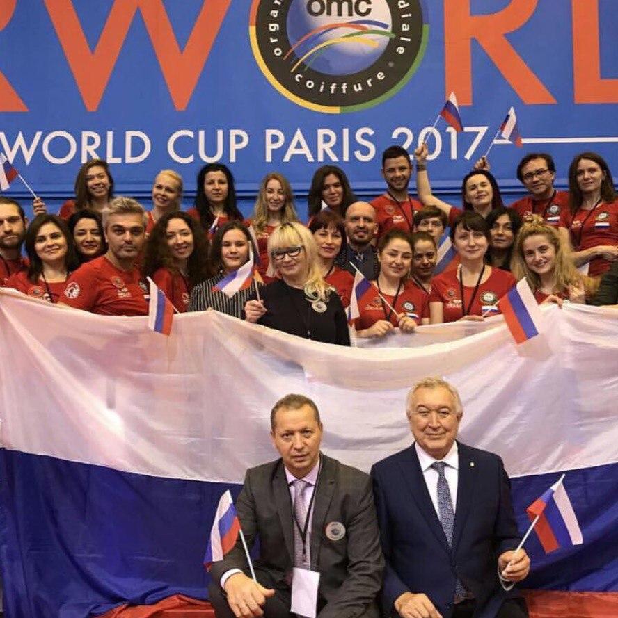 Белгородские мастера выступили на чемпионате мира по парикмахерскому искусству в Париже