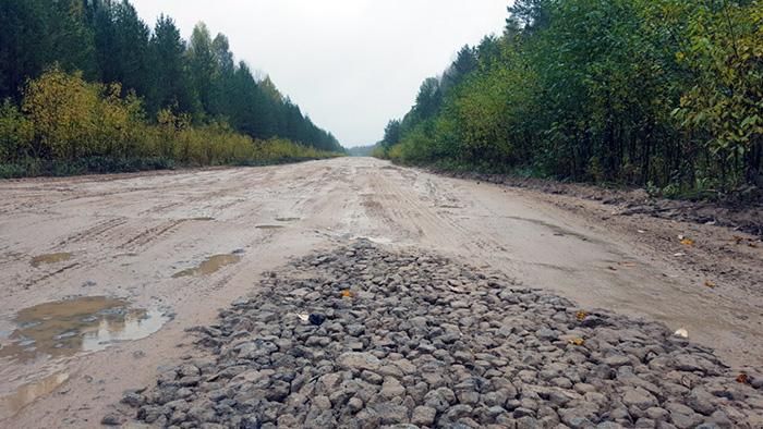 Региональную дорогу Фоминское – Успенье полностью отремонтируют в следующем году