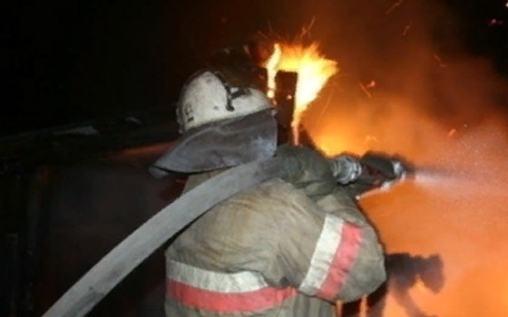 Ночью в Сельцо сгорел Peugeot Boxer
