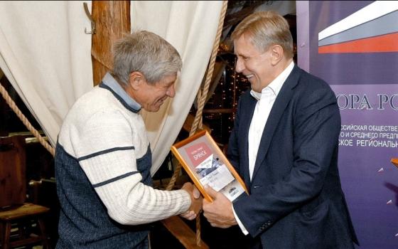 Виктор Гринкевич вручил призы лучшим гонщикам летнего ралли-спринта