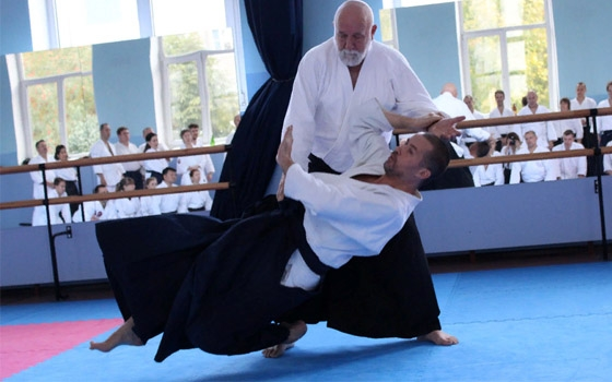 Брянцы участвовали в семинаре шихана Ульфа Эвенаса по айкидо