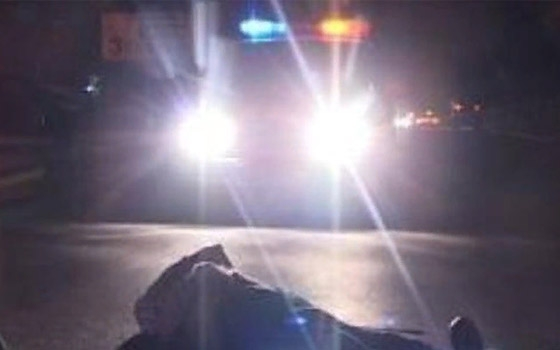 На новозыбковской трассе водитель Toyota Land Cruiser насмерть сбил пешехода