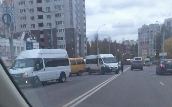 В Брянске подрались водители маршруток