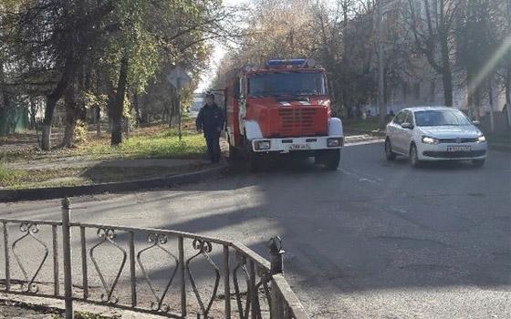 Из-за угрозы теракта эвакуировали студентов и преподавателей БГТУ