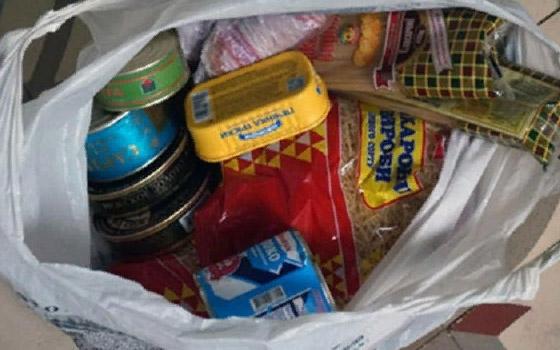 Житель Мглинского района выкрал продукты у односельчанки