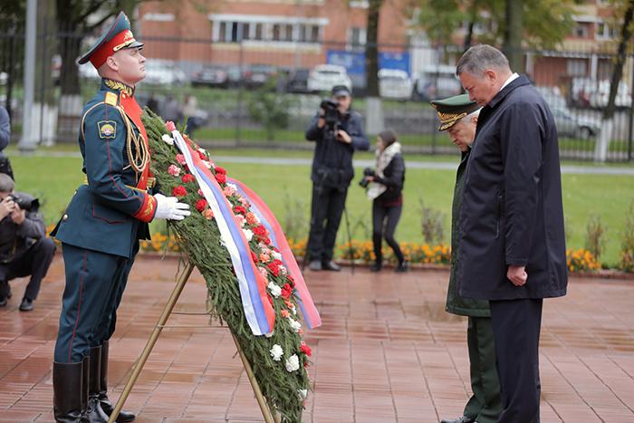 Череповецкий военный вуз получил Орден Жукова