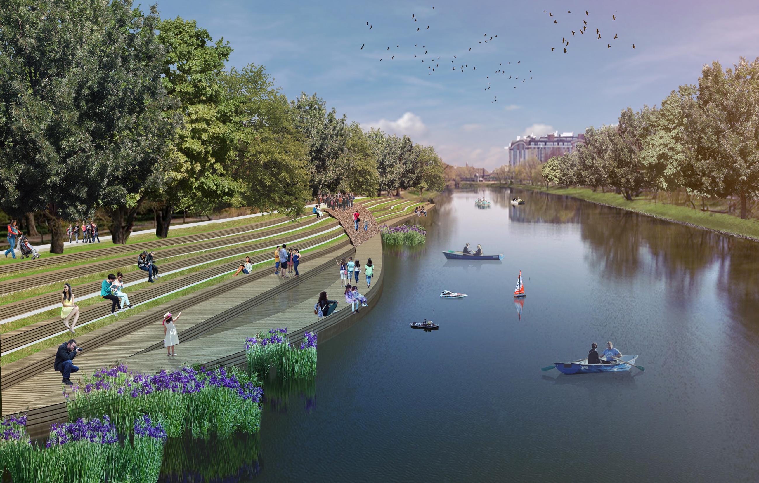 В Белгороде на строительство набережной добавили ещё 20 миллионов рублей