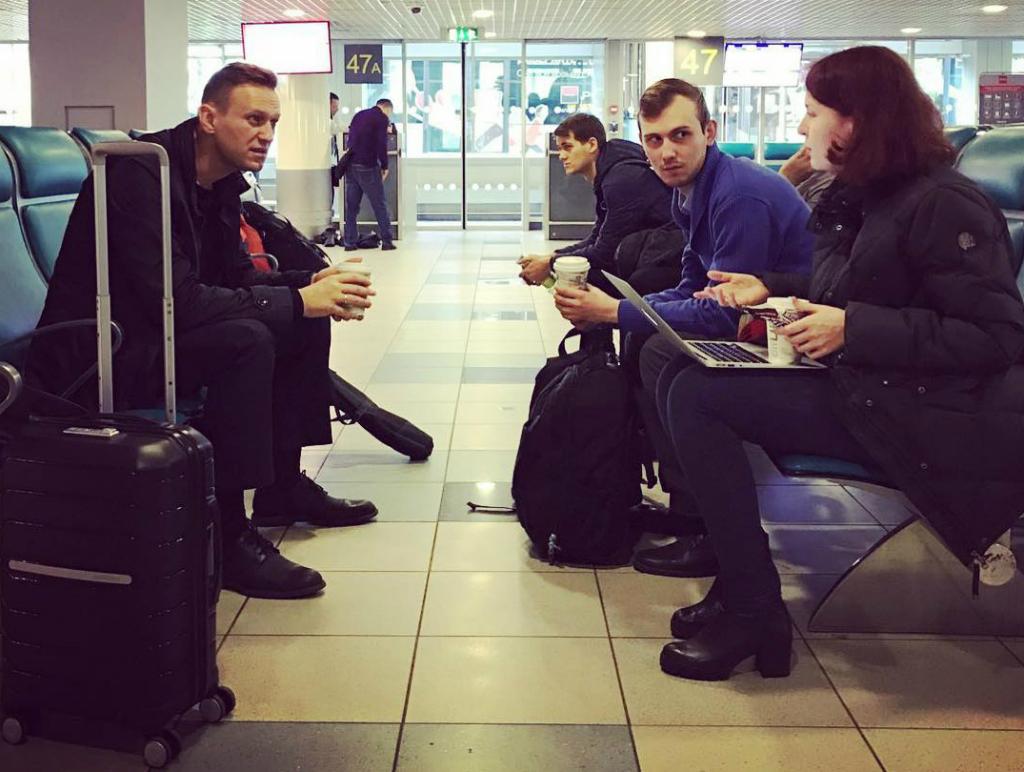 Алексей Навальный оценил белгородский аэропорт