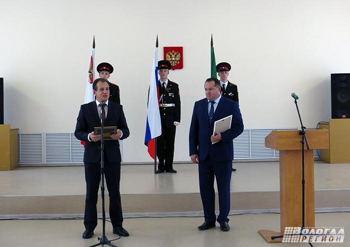В Сокольском районе прошла инаугурация нового главы