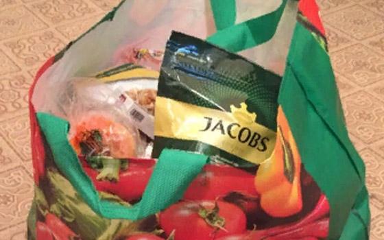 В Белых Берегах мужчина вынес из магазина продукты на 11 тысяч рублей