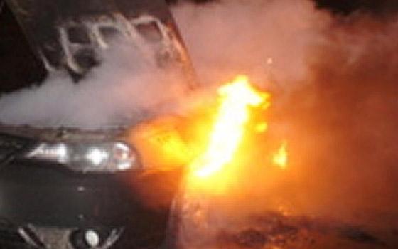 Под Брянском перевернулась и загорелась Daewoo Nexia: у водителя ожоги