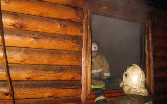 На 7-й Линии в Брянске сгорела частная баня