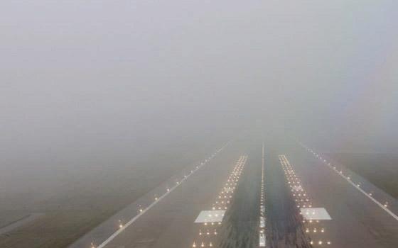 Из-за тумана задержали авиарейс Санкт-Петербург – Брянск