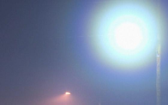 Брянск накрыло небывалым туманом