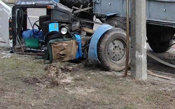 Девушка пострадала в тройном ДТП с трактором на трассе Брянск – Новозыбков