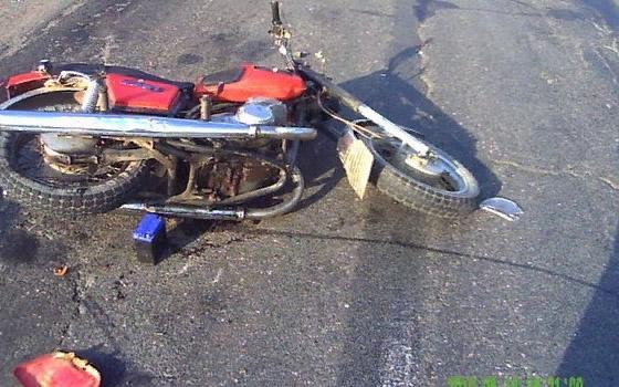 В Навле не поделили дорогу собака и мотоцикл: ранен мотоциклист