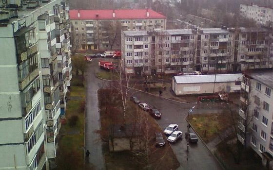 Четырех человек эвакуировали при пожаре на Рылеева в Брянске