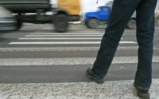 В Брянске пешеходов научили благодарить водителей