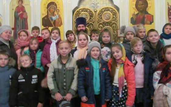 Брянских третьеклассников приобщили к церкви