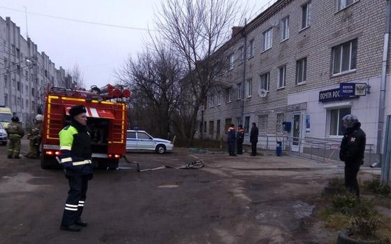 Из-за угрозы теракта оцепили отделение «Почты России» в Брянске