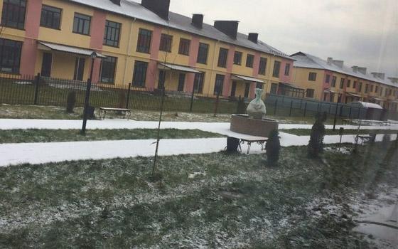 Бежицкий район Брянска замело снегом