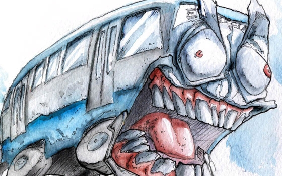 «Женщина ударилась головой и упала»: брянцы жалуются на обезумевших маршрутчиков