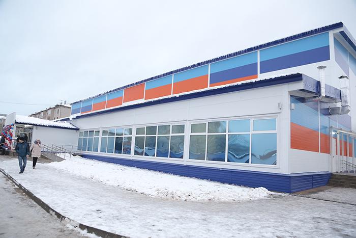 На родине Деда Мороза открыли новый ФОК для игровых видов спорта