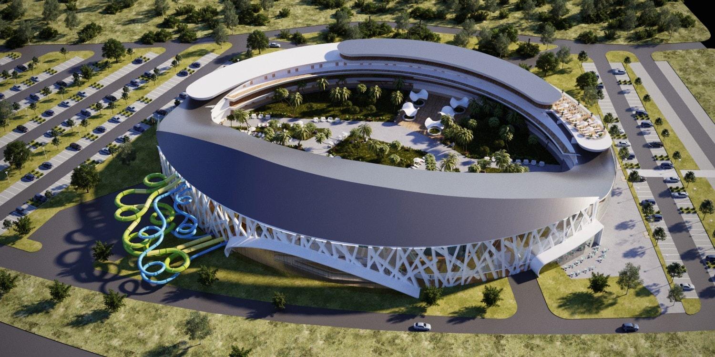 В Белгородской области начали строить аквапарк