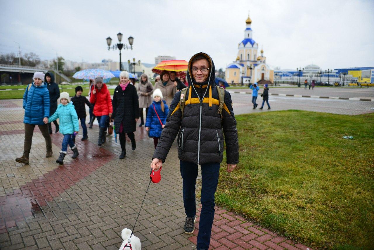 Известные белгородцы будут проводить экскурсии по городу