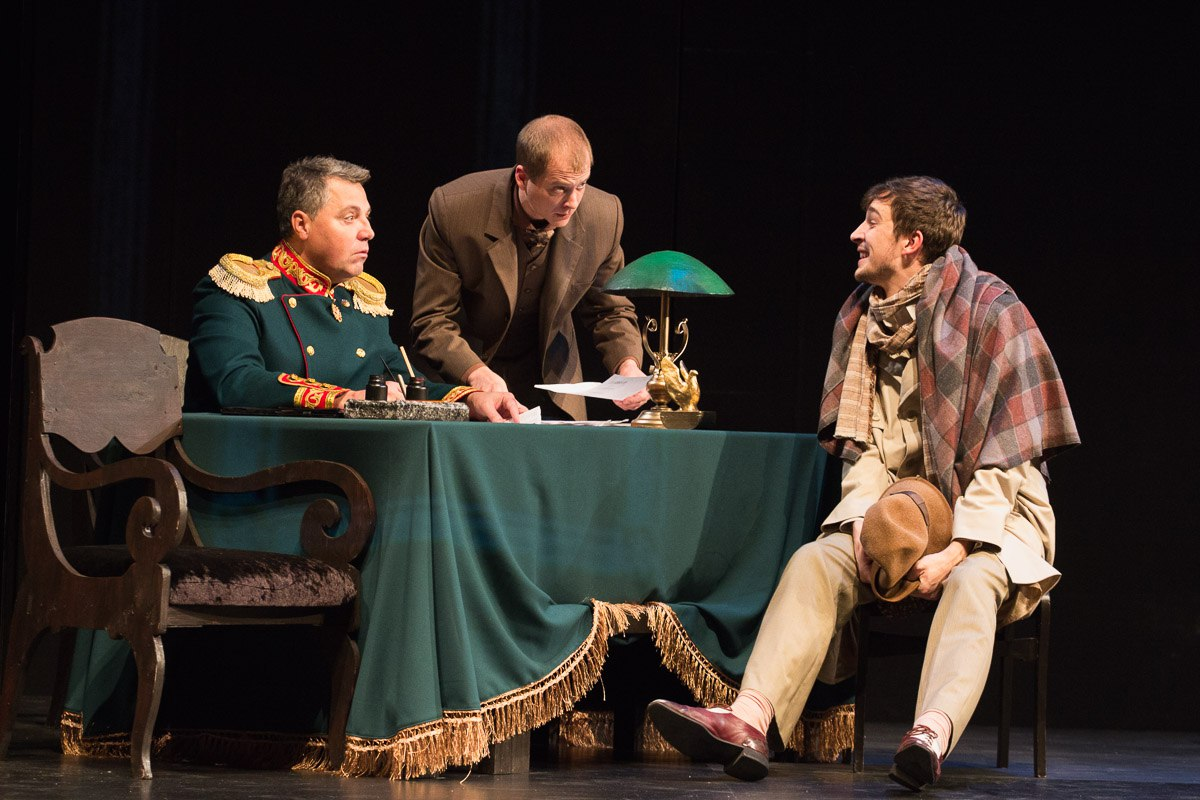 В Белгородском драмтеатре поставили «Идиота» Фёдора Достоевского