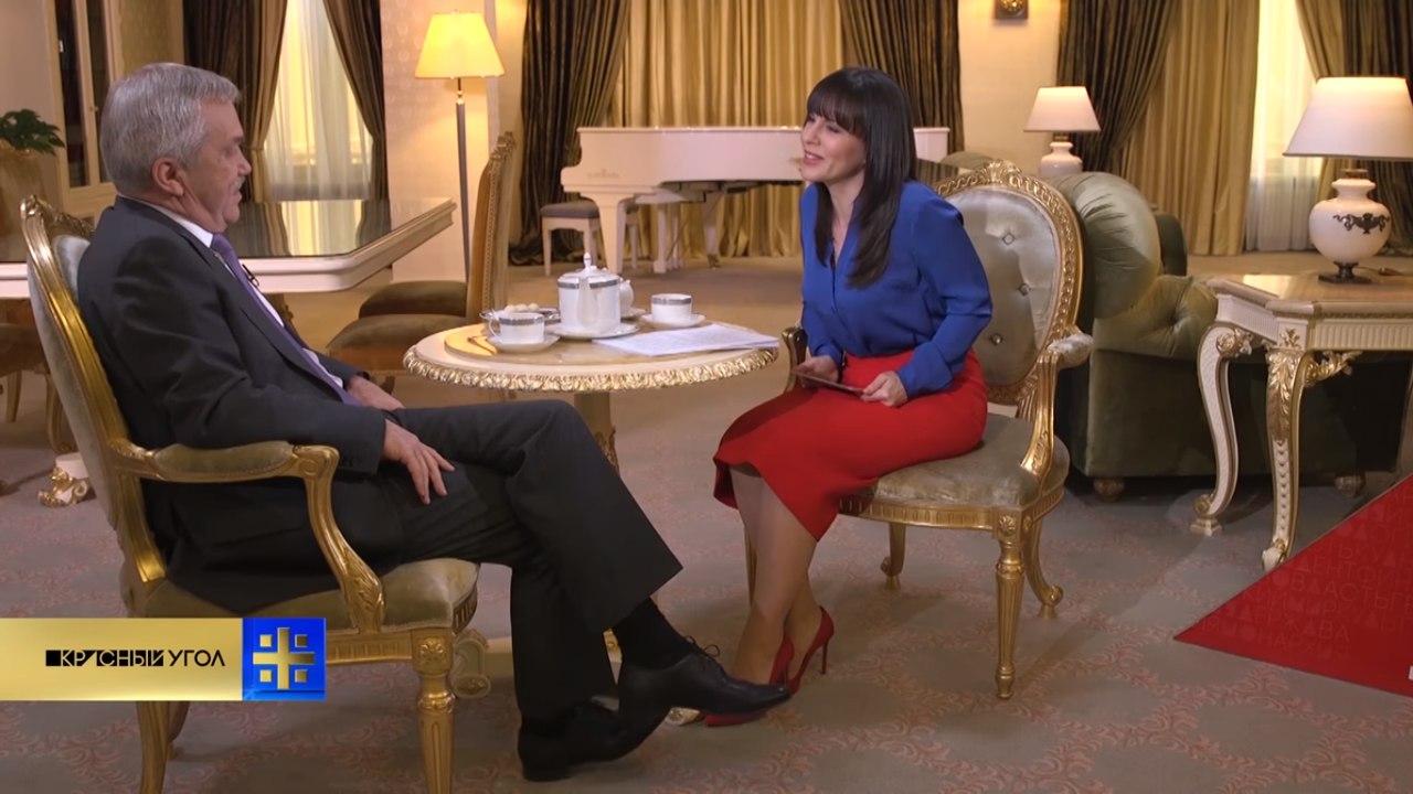 О чём губернатор Евгений Савченко рассказал гендиректору телеканала «Царьград». Коротко
