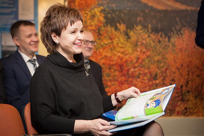В ООО «Газпром трансгаз Ухта» прошла презентация уникальной книги для детей